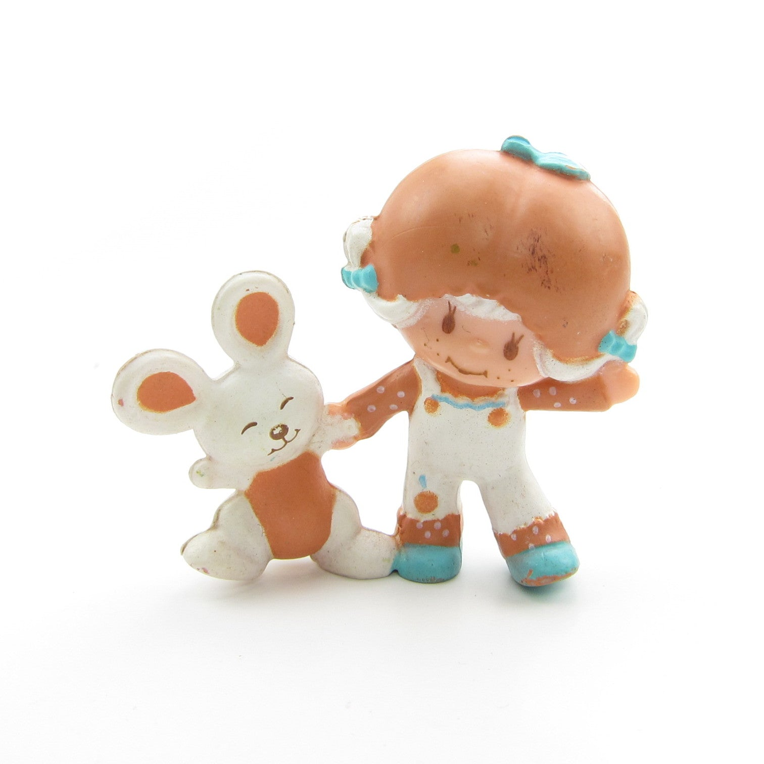 Apricot Dancing with Hopsalot Strawberry Shortcake miniature figurine