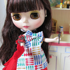 Blythe Pullip Doll Cooking Apron for Kitchen