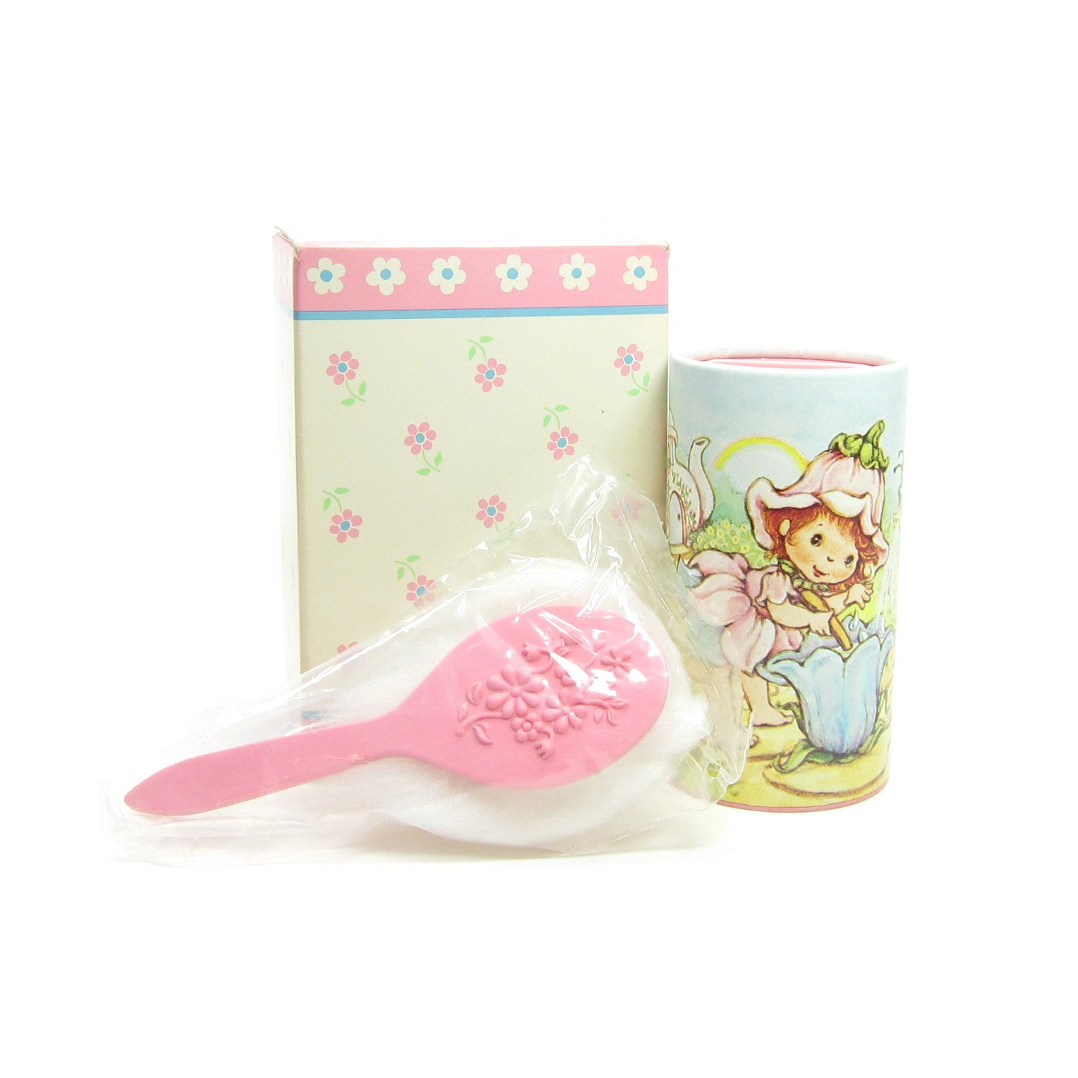 Little Blossom Whisper Soft Talc with Puff