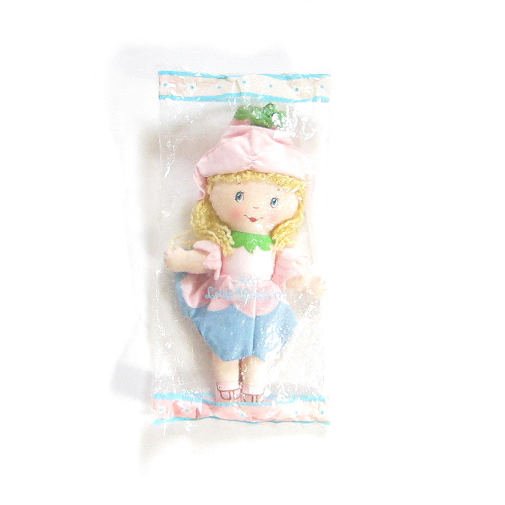Little Blossom Cloth Doll Vintage Avon Rag Doll in Package