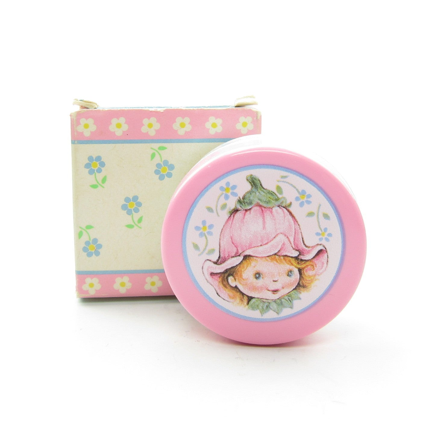 Avon Little Blossom Cheeky Rose Blush with box