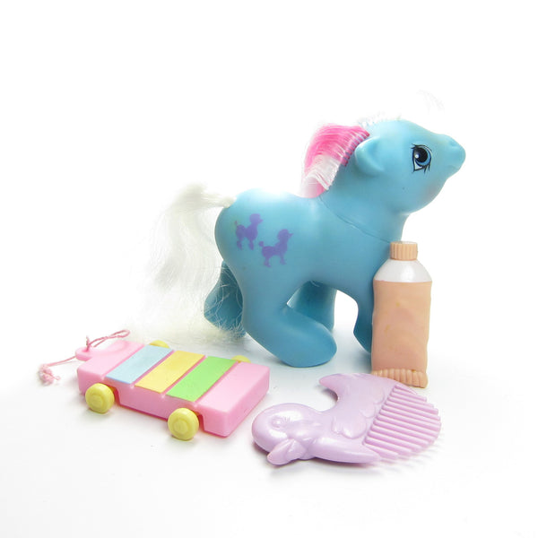 Baby Fifi First Tooth My Little Pony Vintage G1 Brown
