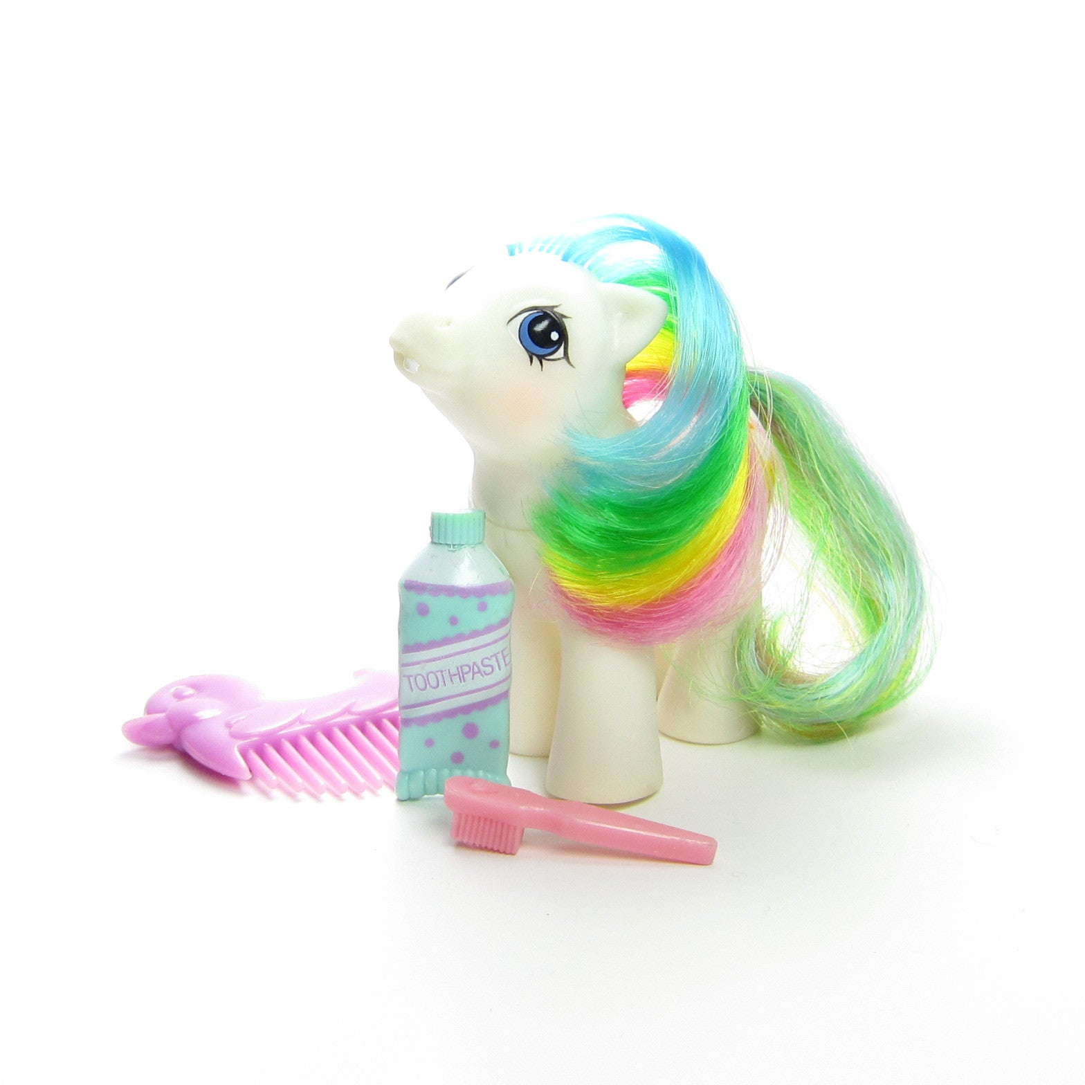 Baby Quackers pony with accessories