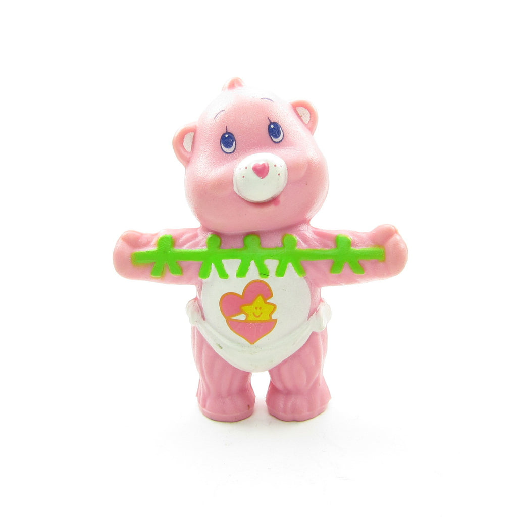 Baby Hugs Bear Making Paper Dolls Care Bears Miniature Figurine