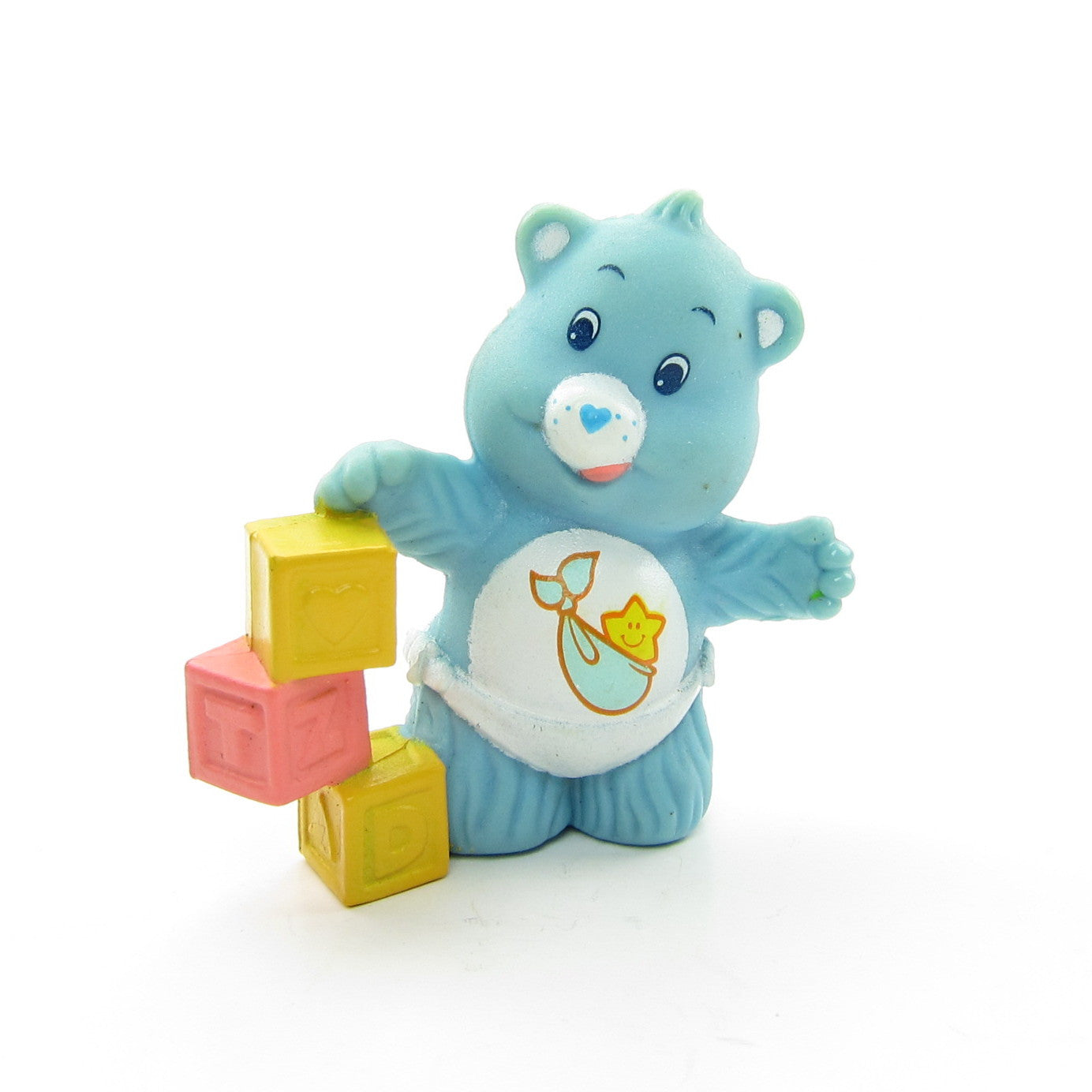 Baby Tugs Bear Stacking Blocks Care Bears miniature figurine