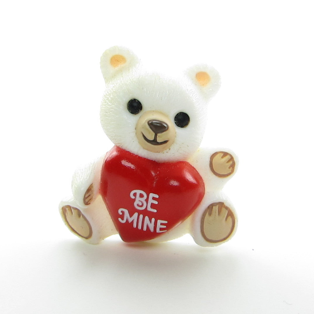 Be Mine Hallmark Valentine's Day teddy bear pin