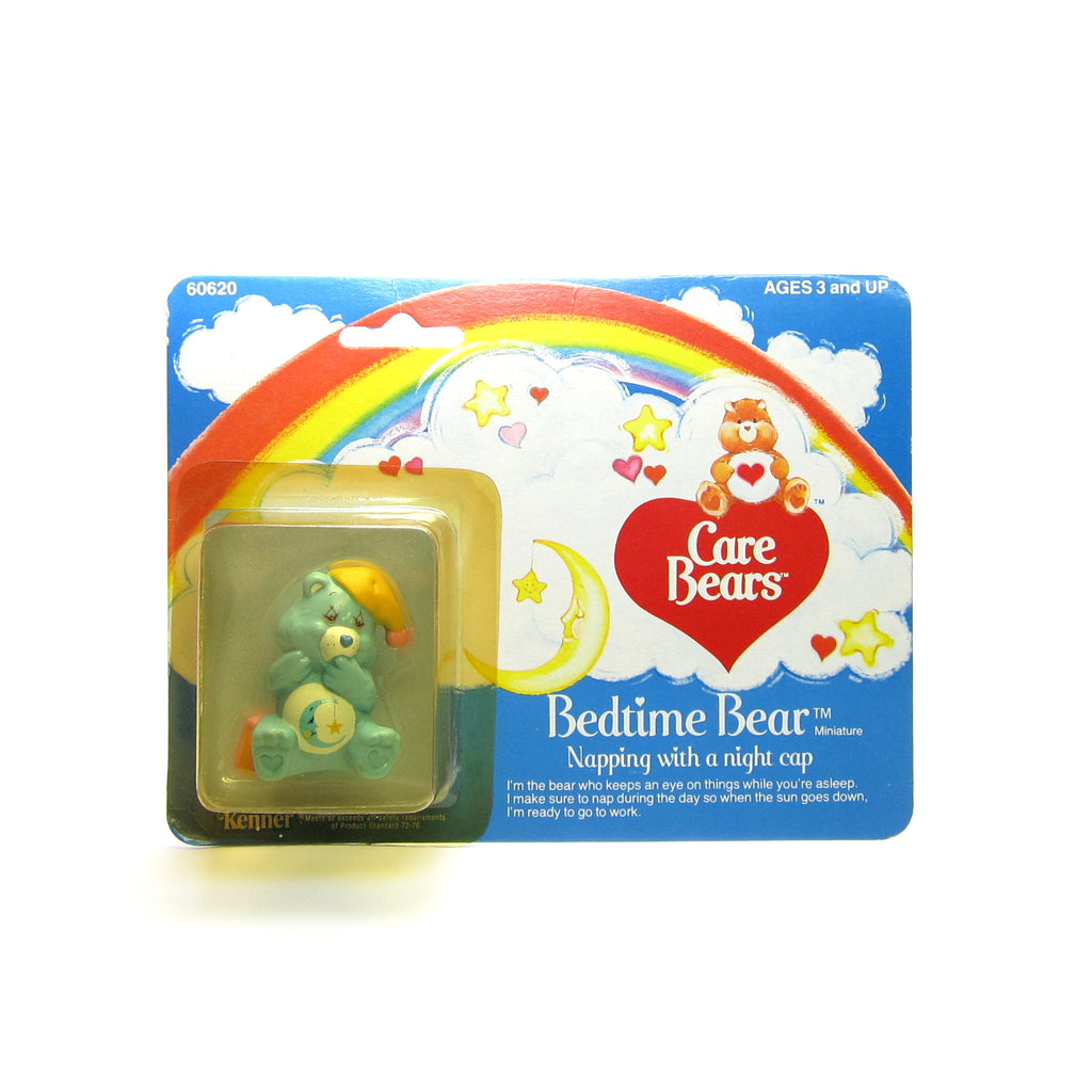 Bedtime Bear Nappping with a Nightcap MOC Care Bears Miniature Figurine