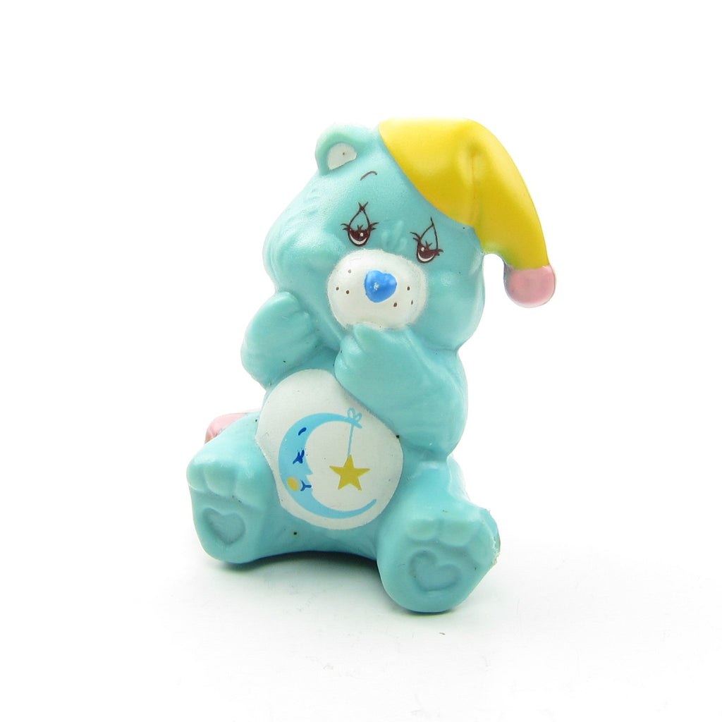 Bedtime Bear Nappping with a Nightcap Care Bears Miniature Figurine