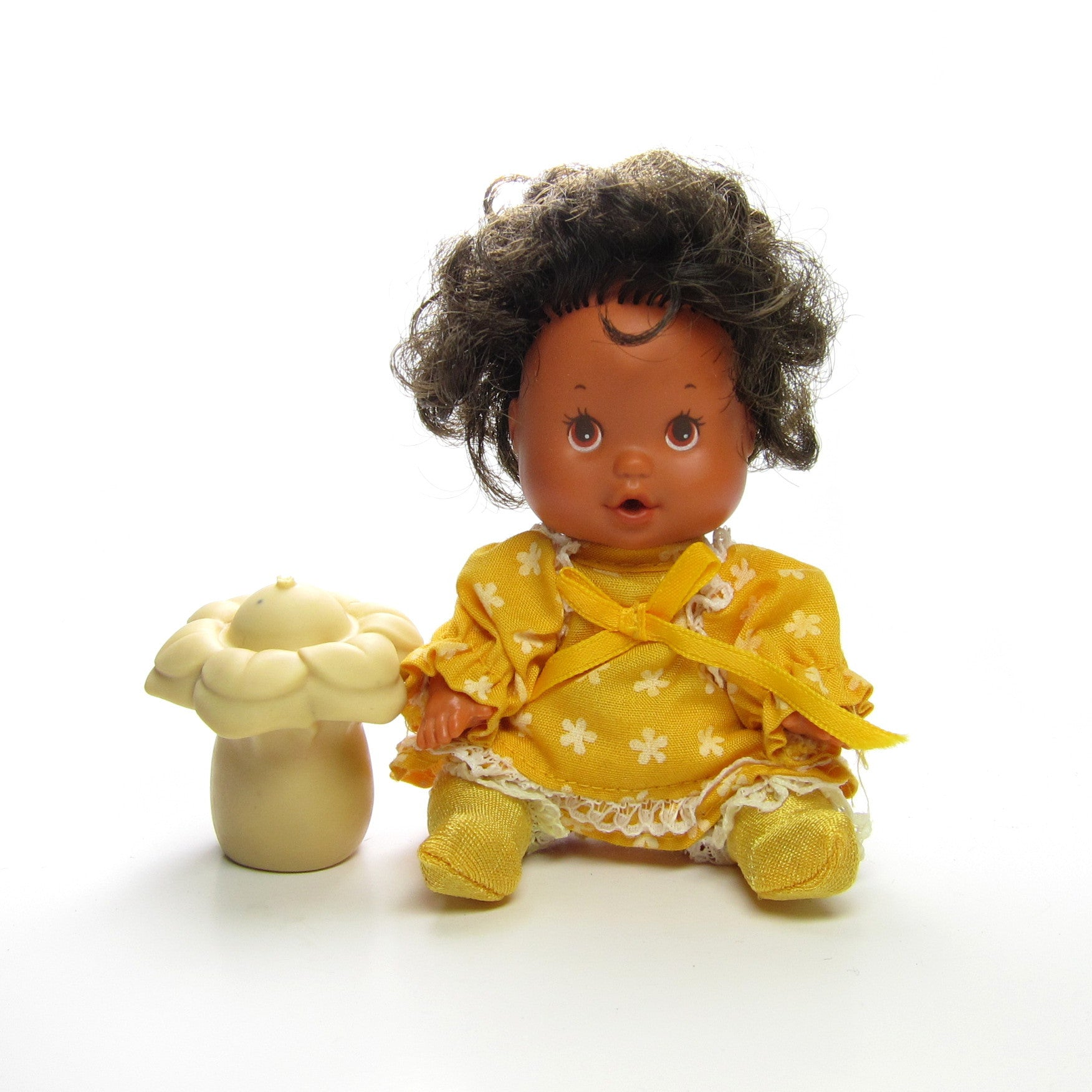 Orange Blossom Berry Baby doll with bottle