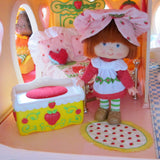 Toy chest for Strawberry Shortcake Berry Happy Home