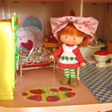 Replacement rug for Strawberry Shortcake Berry Happy Home