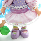 Plum Puddin Berrykin doll with light stain on dress
