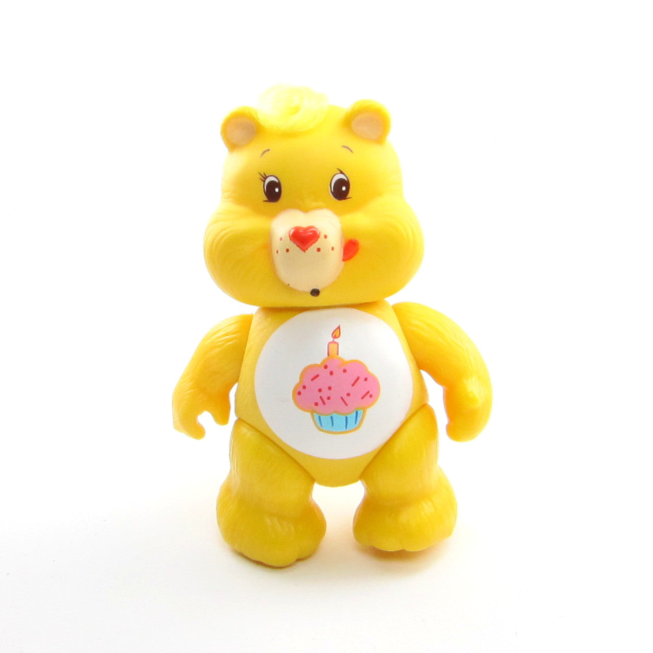 Birthday Bear vintage Care Bears poseable figure