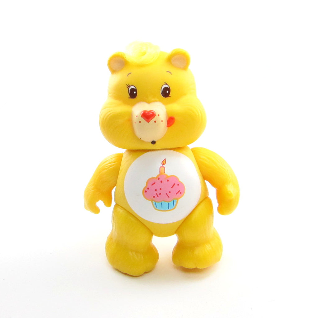 Birthday Bear Vintage Care Bears Poseable 3-Inch Figure