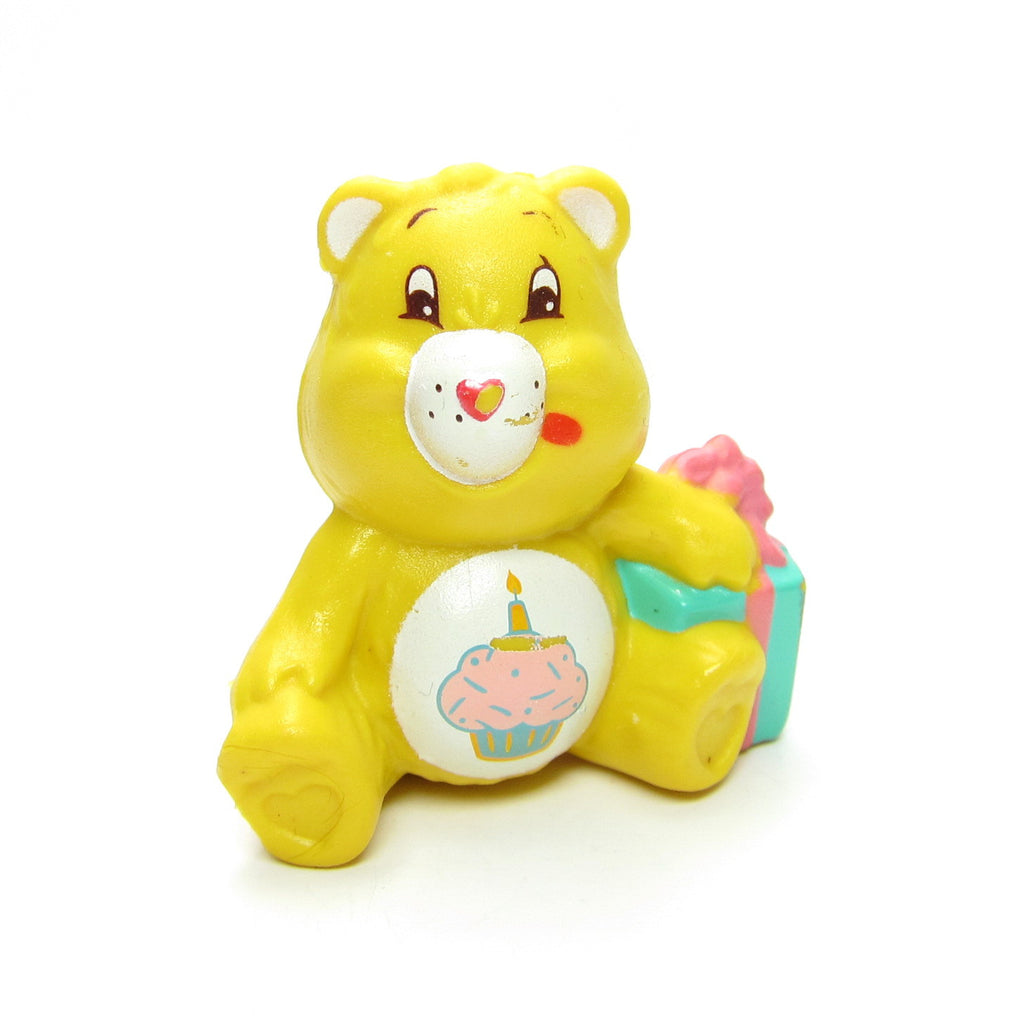Birthday Bear Sitting with a Present Care Bears Miniature