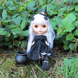 Witch costume for Blythe or Pullip Halloween outfit