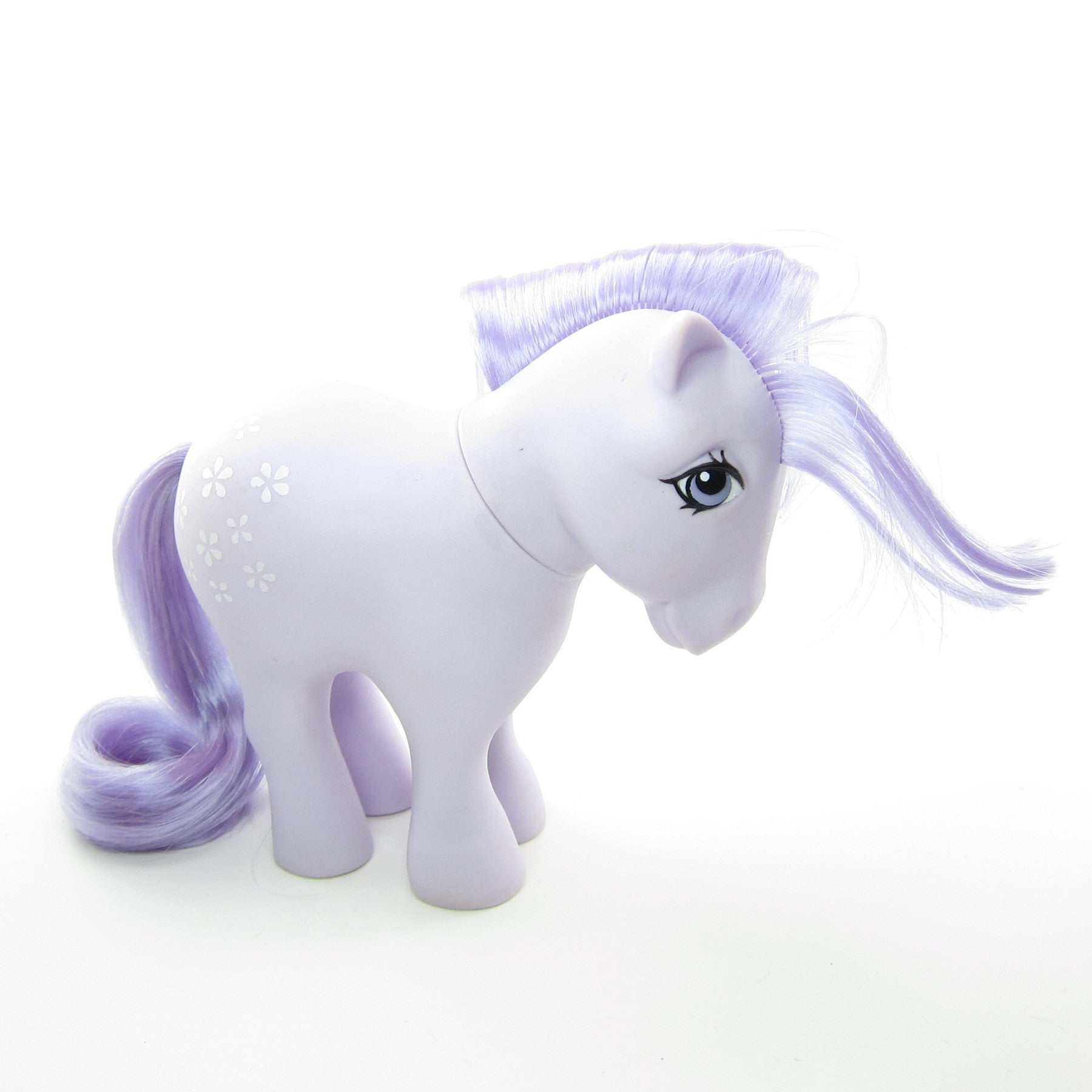 blossom my little pony vintage g1 with concave feet brown eyed rose
