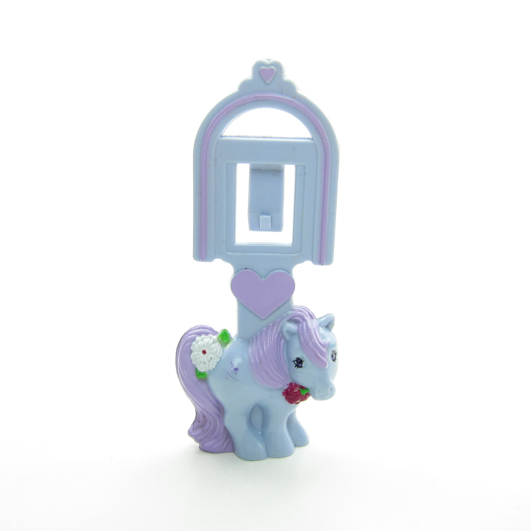 My Little Pony Blue Belle bookmark Happy Meal toy