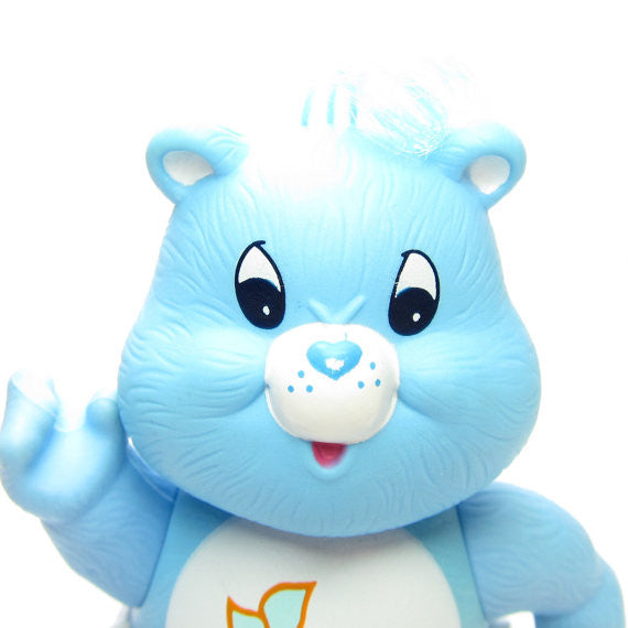 Baby Tugs Bear Blue Vintage Care Bears Poseable 3 Inch
