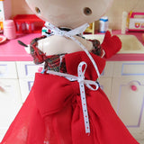 Playscale apron with adjustable tie back