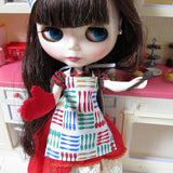 Blythe cooking apron without bow