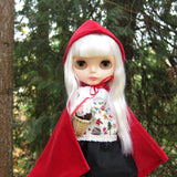 Blythe Little Red Riding Hood costume with cape