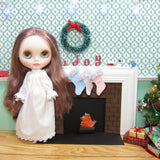 Playscale miniature doll Christmas stockings