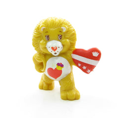 Brave Heart Lion Protecting His Friends miniature figurine