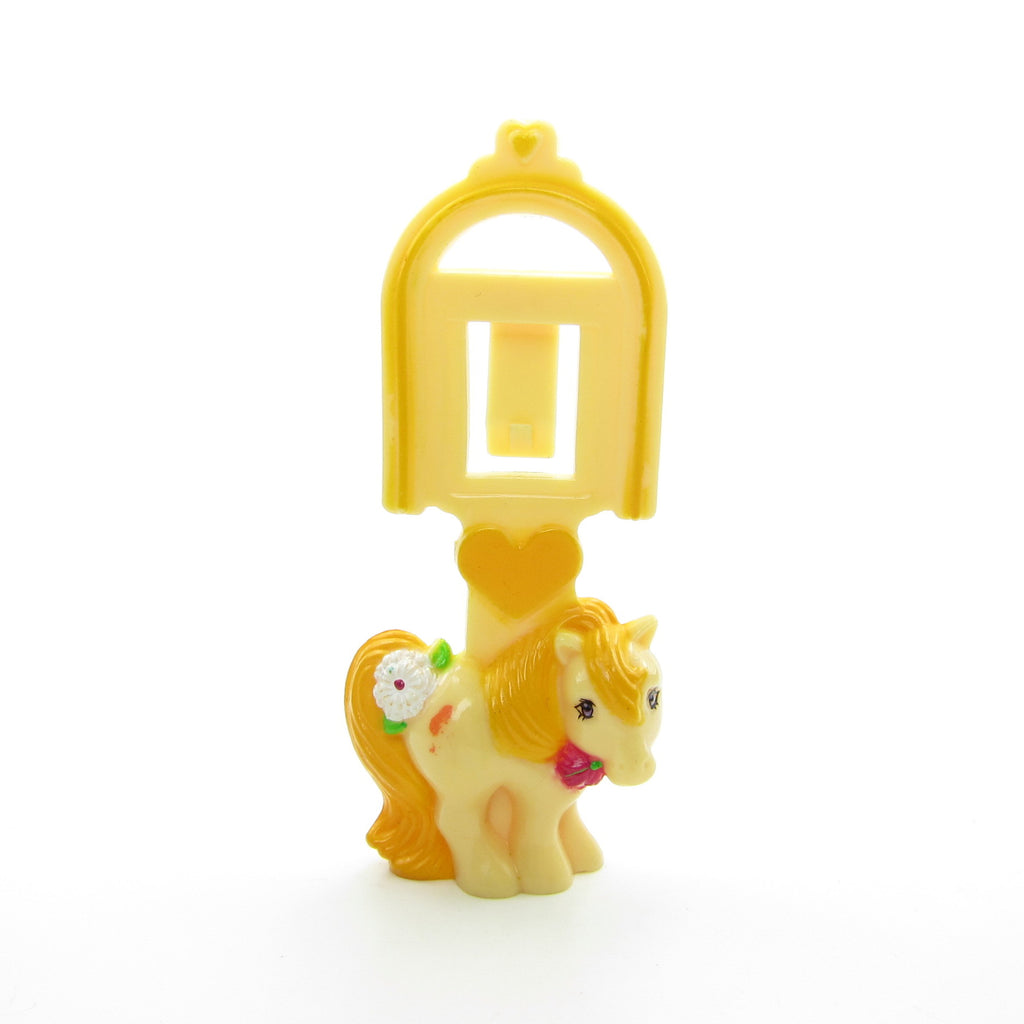 Butterscotch My Little Pony 1984 McDonald's Bookmark