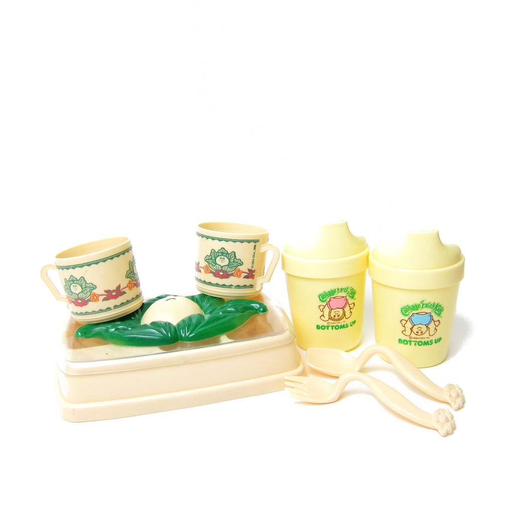 Cabbage Patch Kids Vintage Feeding Set Toys for Dolls
