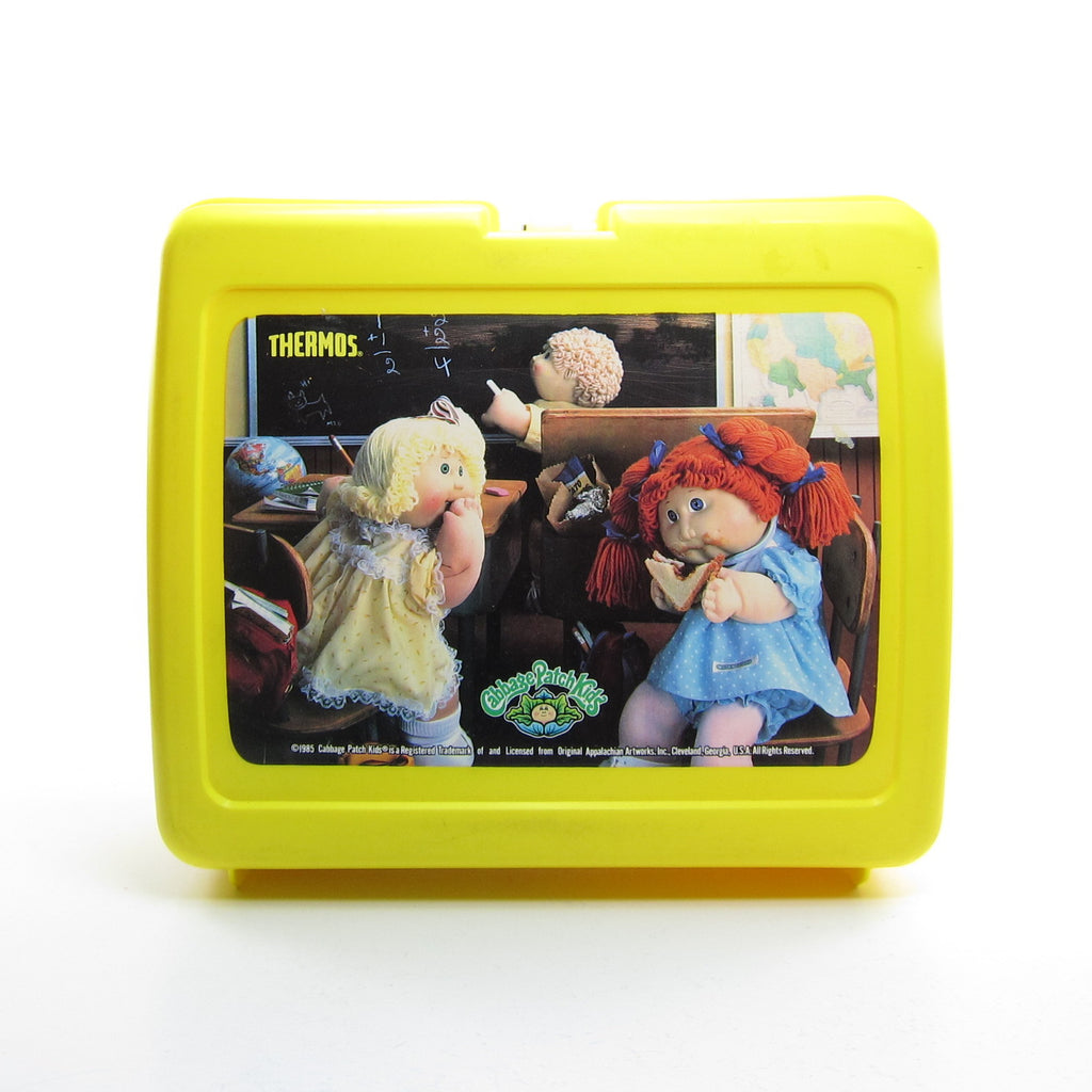 Cabbage Patch Kids Vintage Lunch Box with Thermos