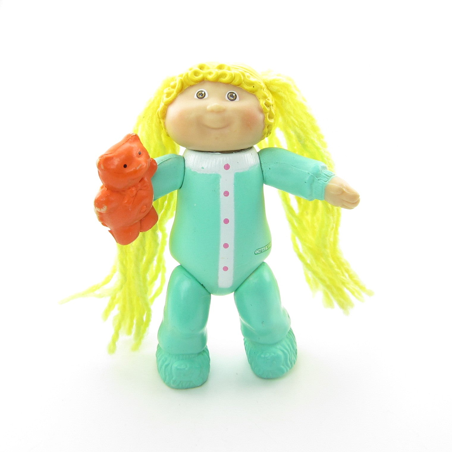 Cabbage Patch Kids girl in pajamas poseable figure