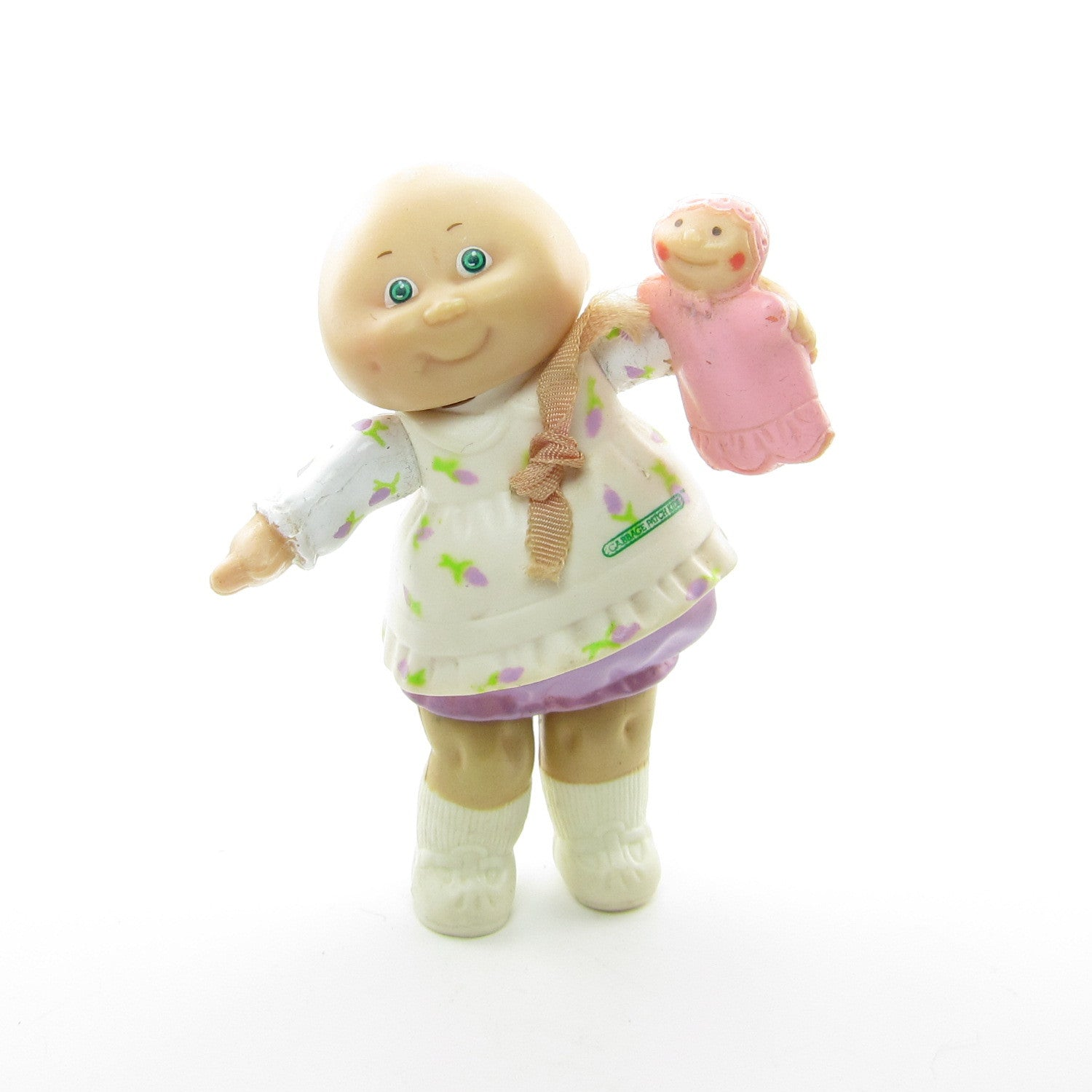Preemie girl poseable Cabbage Patch Kids toy with baby doll