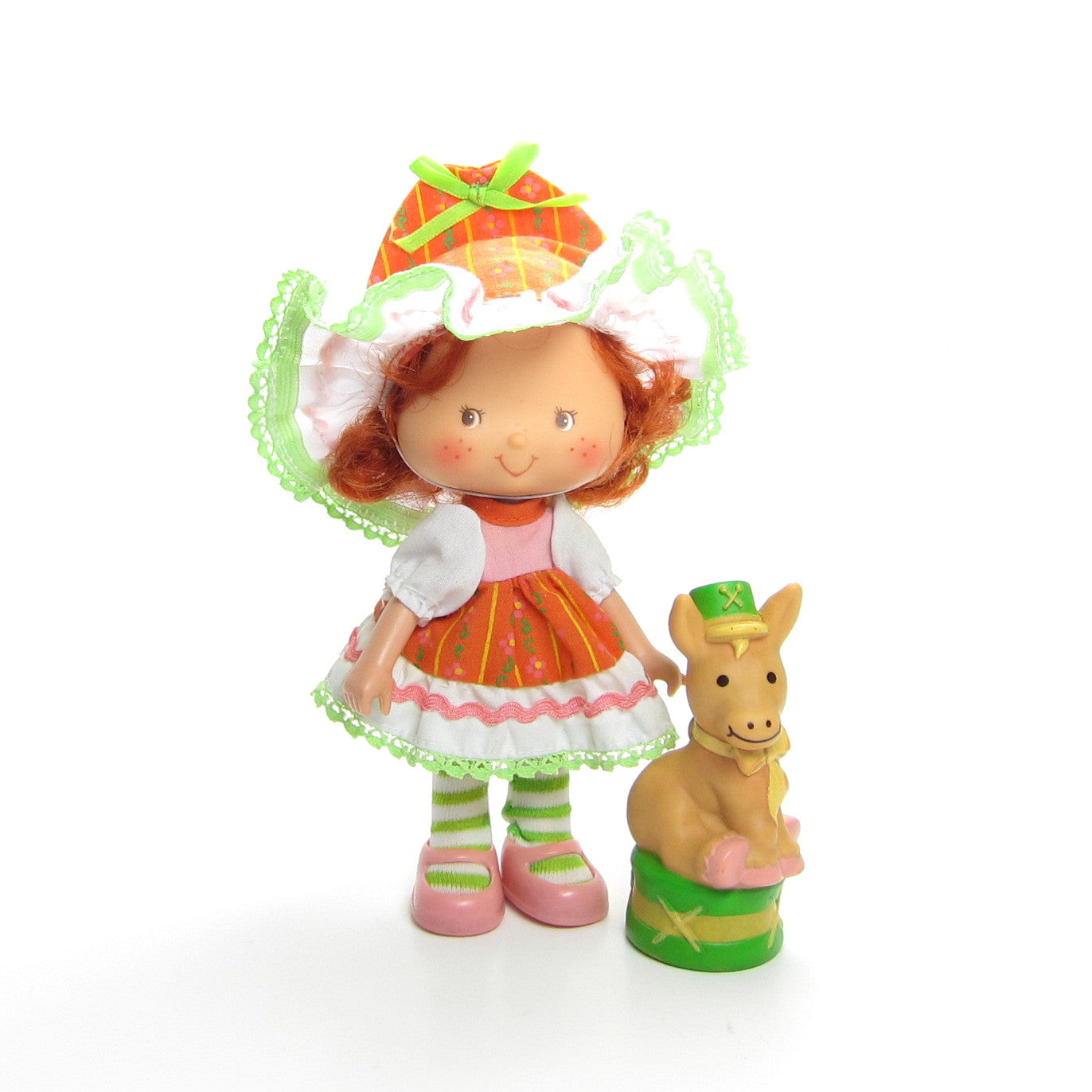 Cafe Ole Party Pleaser doll with Burrito donkey pet