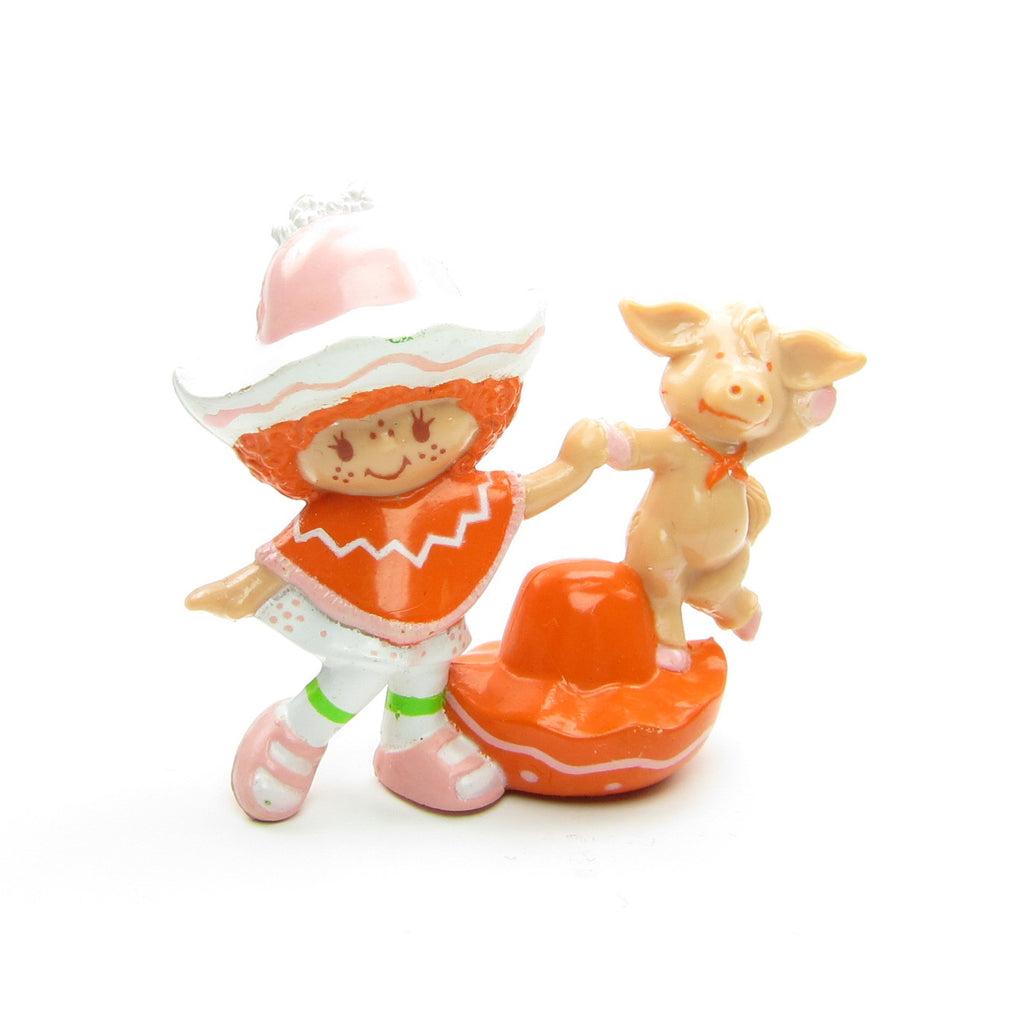 Cafe Ole Dancing with Burrito Donkey 1984 Miniature Figurine