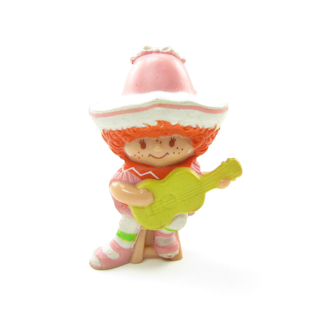 Cafe Ole with a Guitar PVC Miniature Figurine