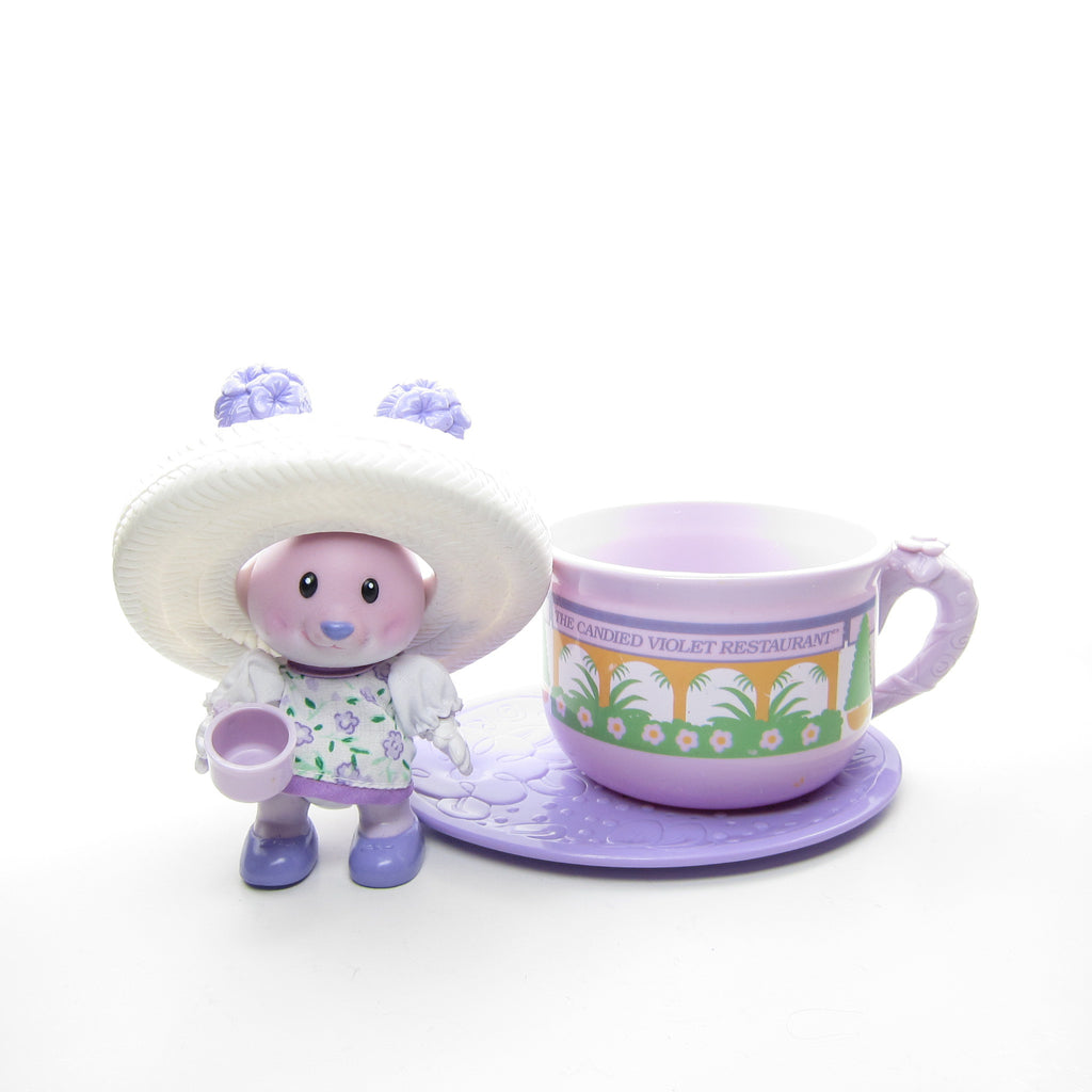 Candy Violet and the Candied Violet Restaurant Tea Bunnies Toy