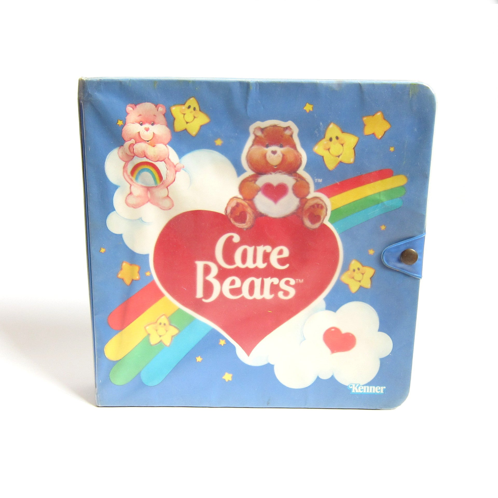 Care Bears Storybook miniature figurine storage case