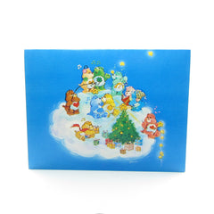 Care Bears Christmas card with tree