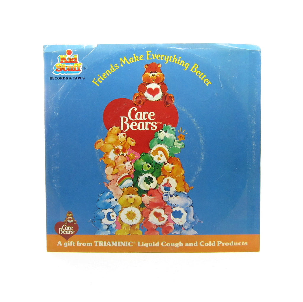 Care Bears Record Friends Make Everything Better Triaminic Promotional Gift