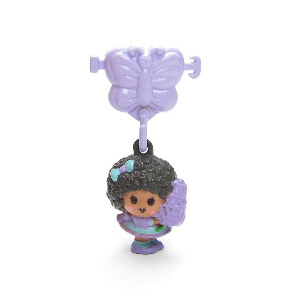 Hyacinthia Charmkins Toy with Purple Butterfly Pony Tail Holder