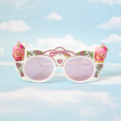 Charmkins sunglasses with Honey Bunch and Sunny Bunch