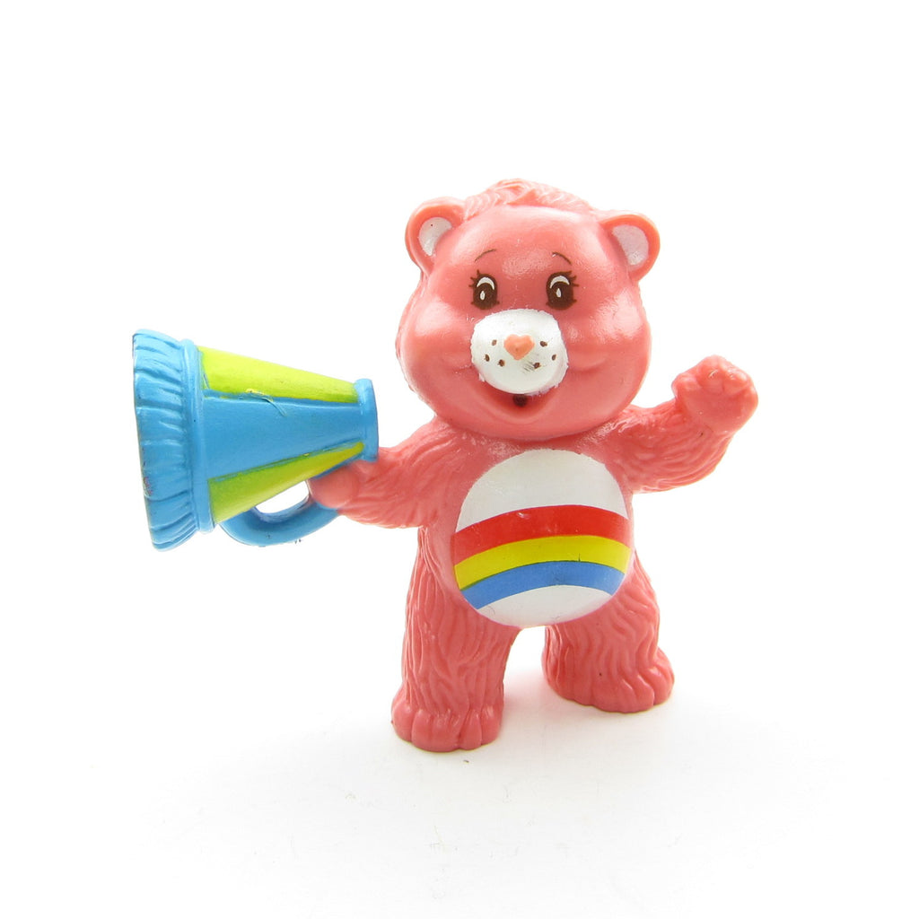 Cheer Bear Cheering from the Sidelines Care Bears Miniature