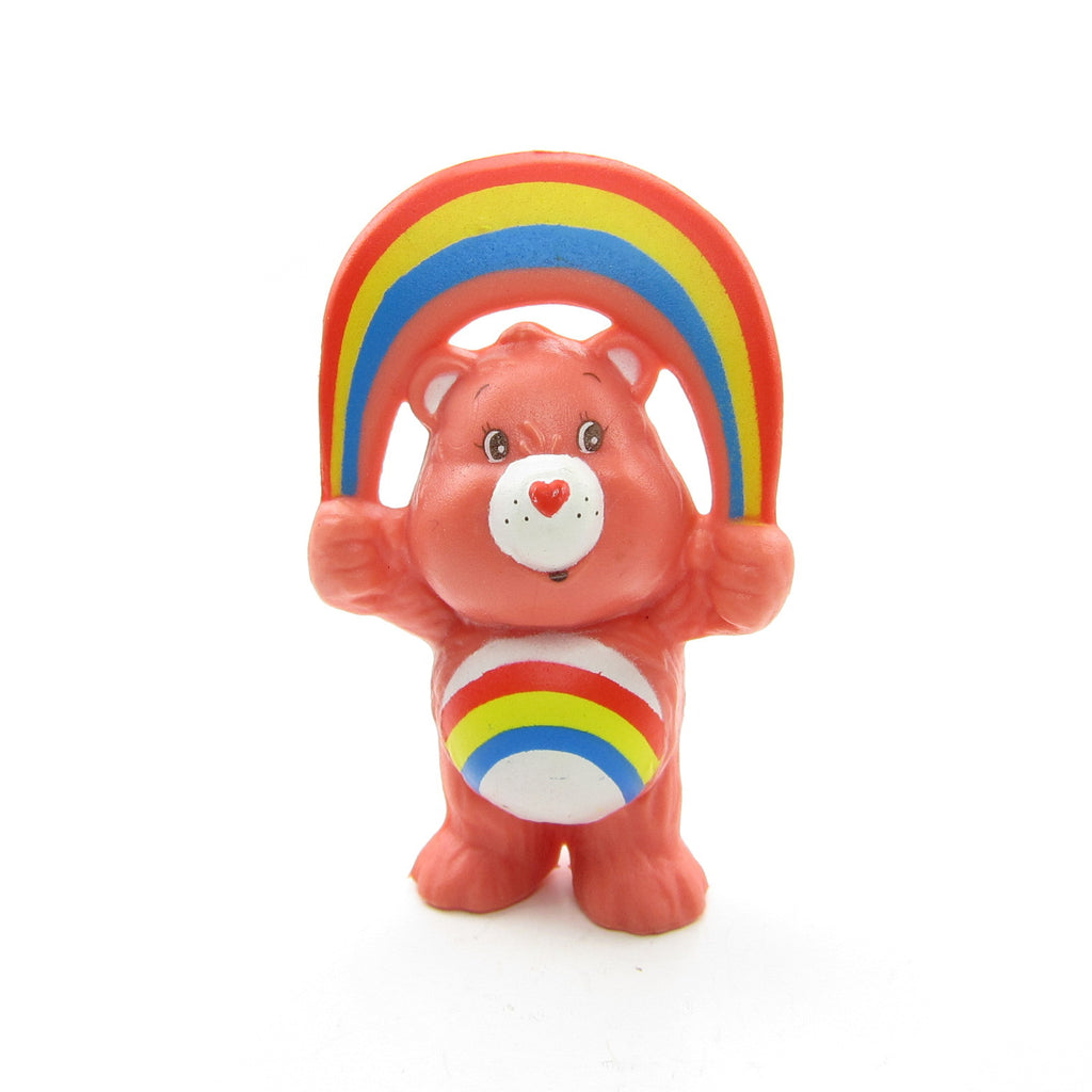 Cheer Bear Skipping Rope Care Bears PVC Miniature