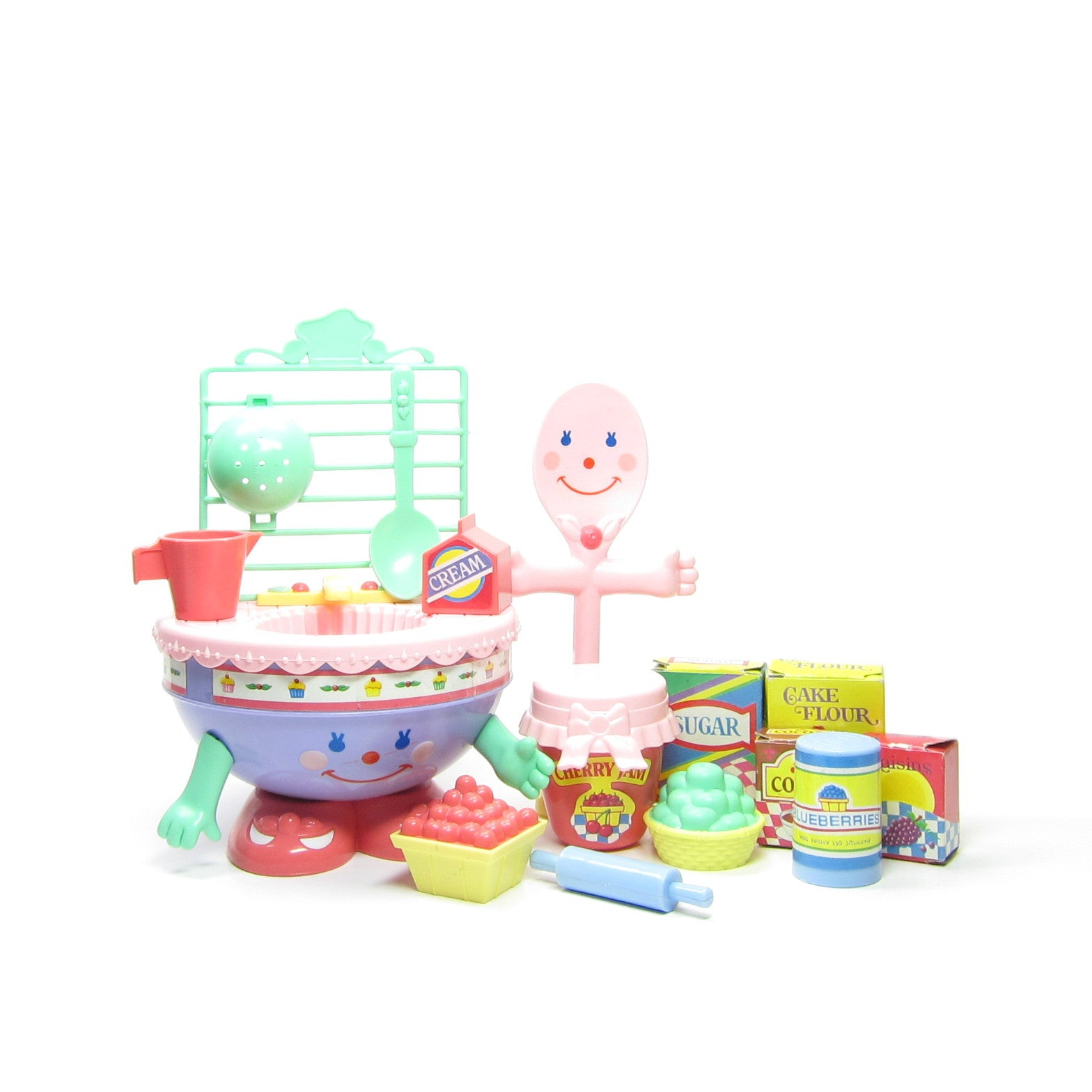 Cherry Merry Muffin Mix & Wash Playset for dolls
