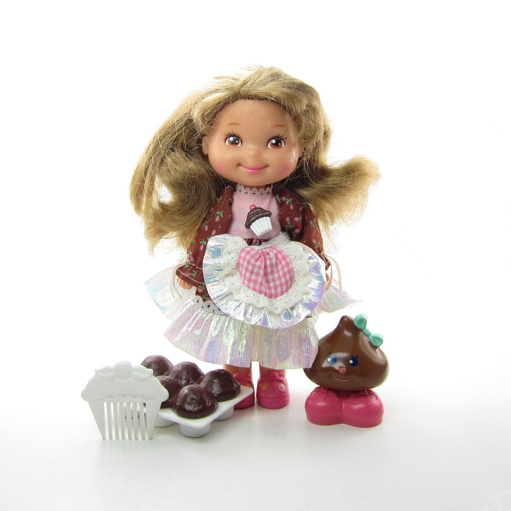 Chocolottie Doll 1988 First Issue Cherry Merry Muffin Friend