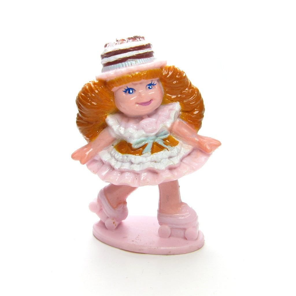Chocolottie Roller Skating Cherry Merry Muffin Miniature PVC Figurine