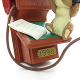 Christmas 1998 Hallmark Chatty Chipmunk ornament