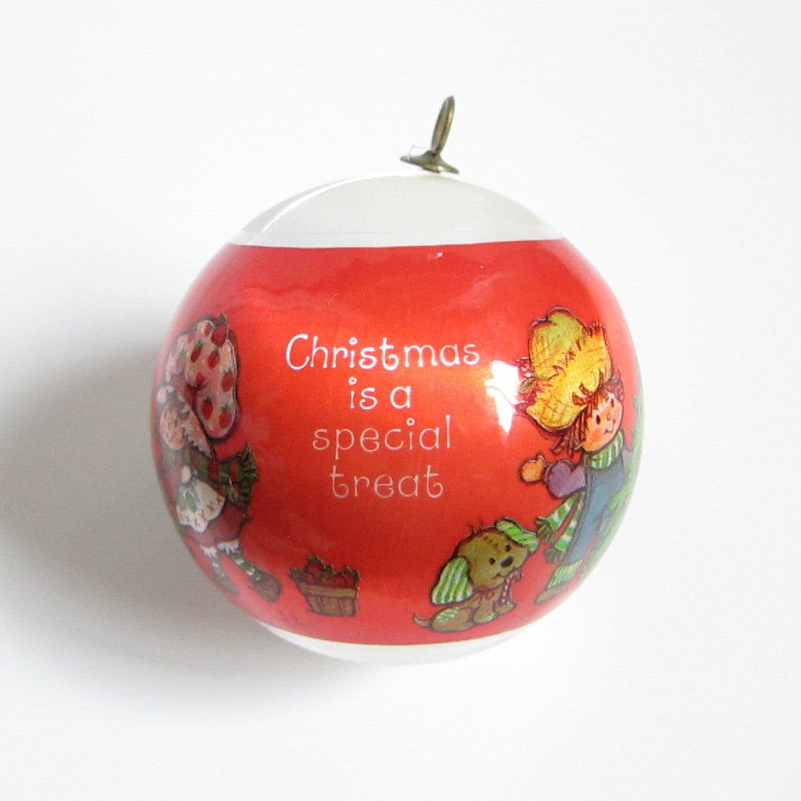 Christmas is a Special Treat Strawberry Shortcake ornament