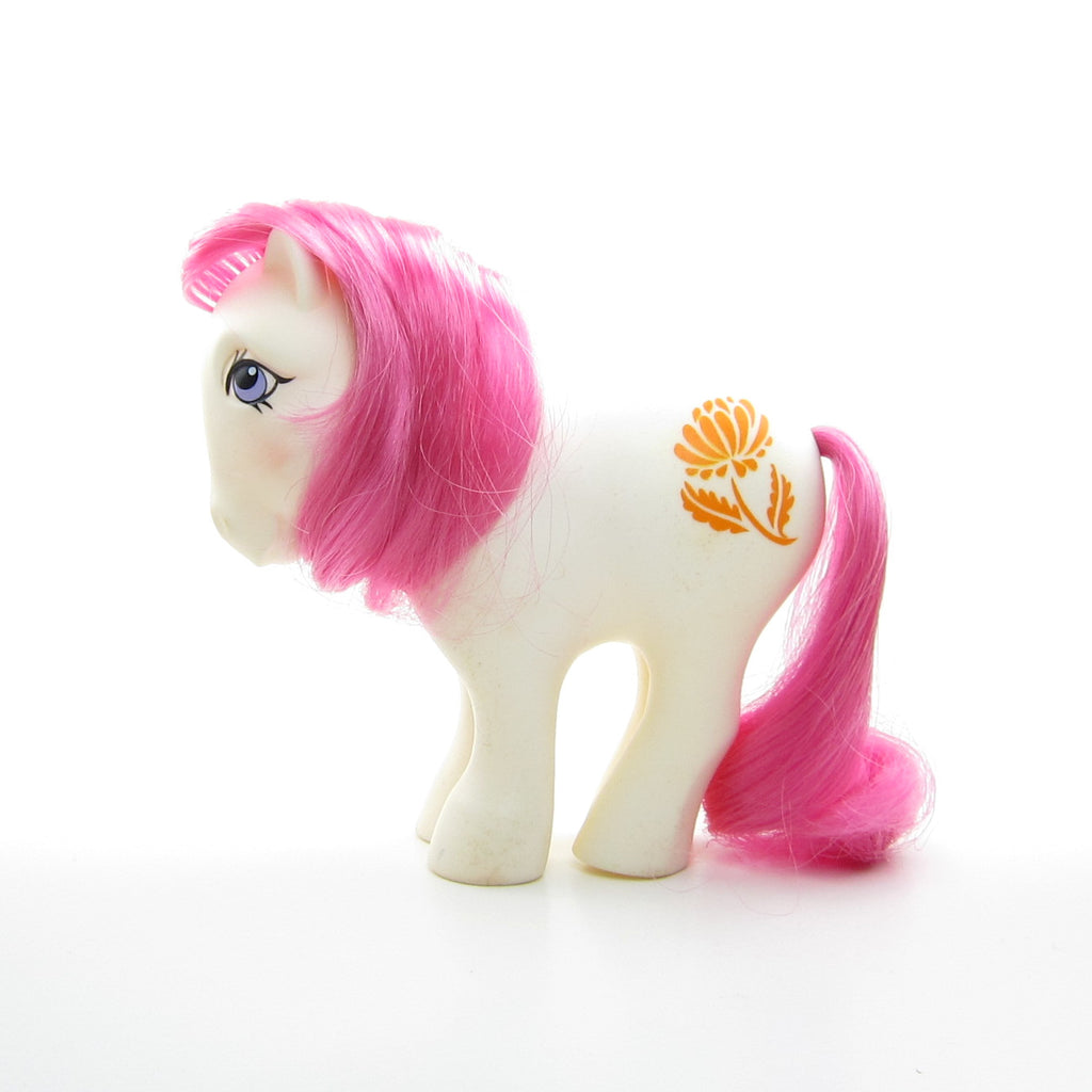 November Chrysanthemum Birthflower Ponies Vintage G1 Mail Order My Little Pony